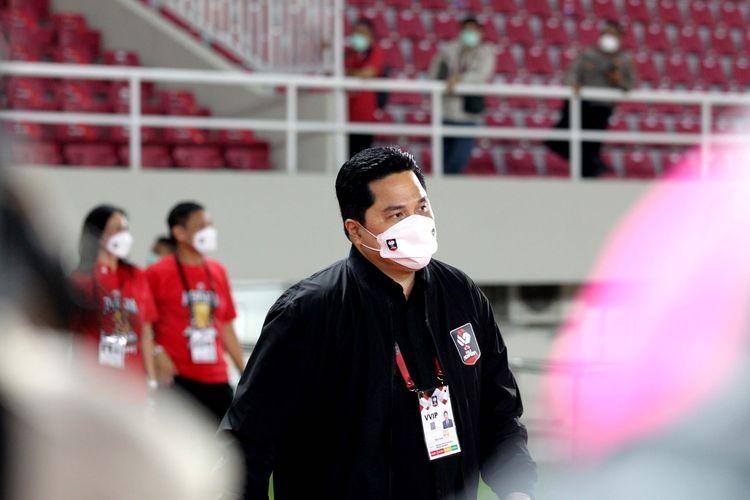 Erick Thohir: Tak Memaksa Bos Bos UMKM Untuk ikut Vaksinasi Gotong Royong